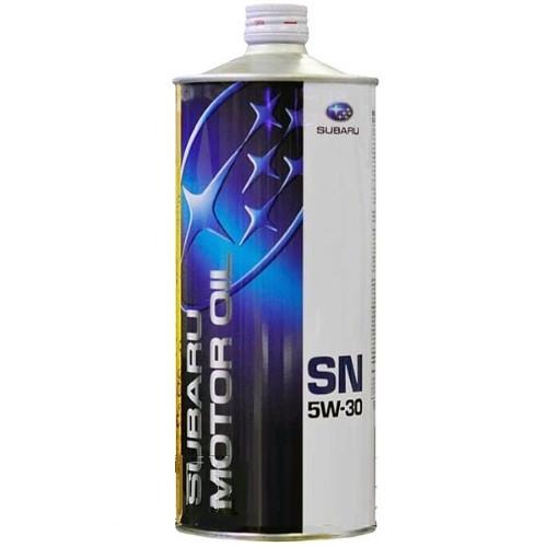 Масло моторное синтетическое 5w-30, 1л Subaru FIG621620T1L