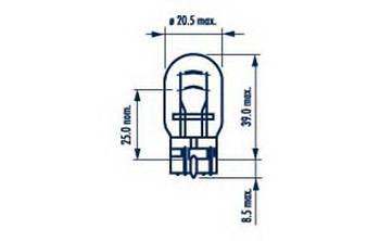 Лампа накаливания стоп сигнала Honda 34906ST5003
