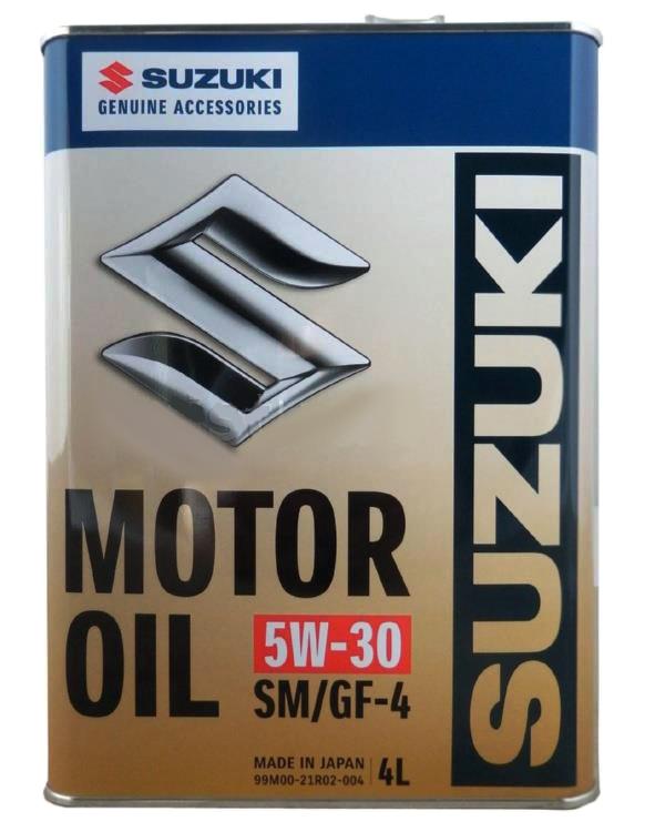 Масло моторное 5W-30 SM/GF-4, 4л Suzuki 99M0021R02004