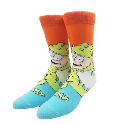 Прикольные высокие мужские носки c мультфильму Ох уж эти детки - Томми