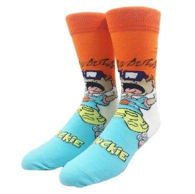 Прикольные высокие мужские носки c мультфильму Ох уж эти детки- Чаки