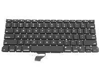 Клавиатура для ноутбука Apple MacBook Pro A1502 (2013-2015) smal enter черная бу