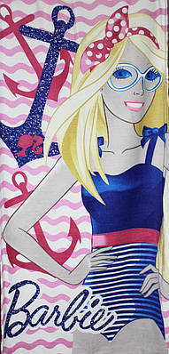 Пляжное полотенце Barbie