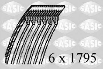 Ремень поликлиновый Sasic 1774048