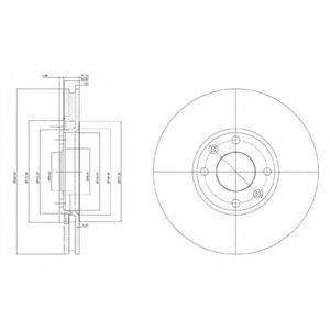 Тормозной диск Sasic 2464W24J