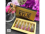 Набор жидких матовых помад Кайли Дженнер Kylie Jenner 6 оттенков, Помада матовая ave, фото 4