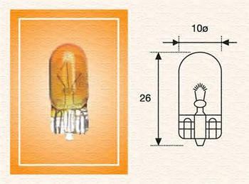 Лампа накаливания 12V W5W Magneti Marelli 002051800000