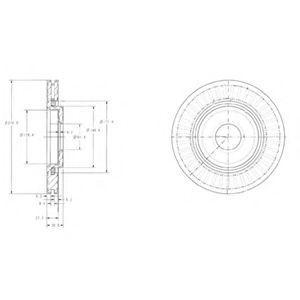 Тормозной диск Sasic 2464W14J