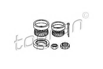 Комплект подшипника ступицы колеса Topran 103751