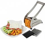 Картофелерезка (овощерезка) механическая, устройство для резки картофеля фри Potato Chipper ave, фото 4