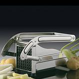 Картофелерезка (овощерезка) механическая, устройство для резки картофеля фри Potato Chipper ave, фото 6