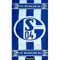 Полотенце пляжное FC SCHALKE 04, Pliag-063