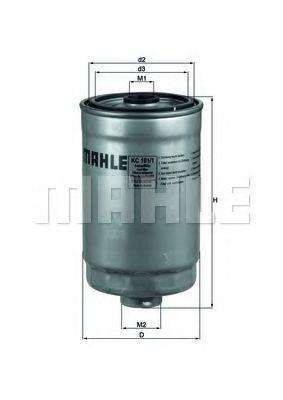 Фильтр топливный Knecht (Mahle) KC1011