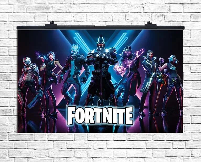 Плакат для праздника Fortnite (Фортнайт), 75*120 см