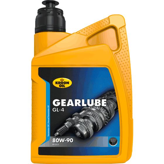Масло трансмиссионное GEARLUBE GL-4 80W, 1л Kroon Oil 01209