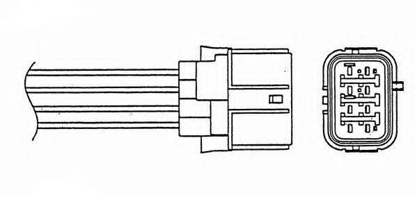 Лямбда-зонд NGK 0025
