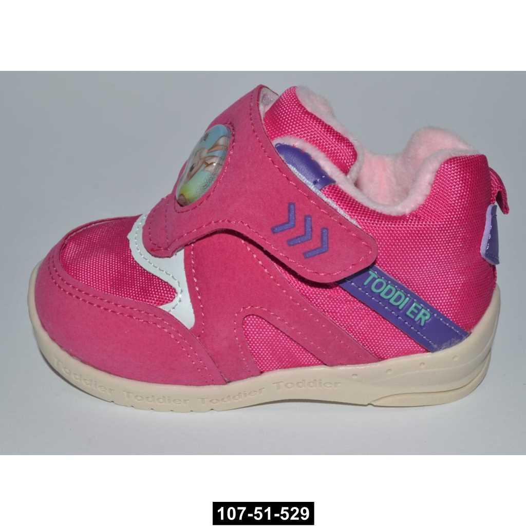 Детские кроссовки, 18-23 размер, кожаная стелька, супинатор, 107-51-529