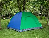 Палатка-автомат 2-х местная с автоматическим каркасом Leomax (2*1,5 метра) - Разные цвета ave, фото 4