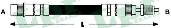 Шланг тормозной LPR 6T46007