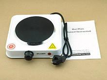 Электрическая плитка дисковая с защитой от перегрева 1000ВТ Atlanfa AT-1755A ave