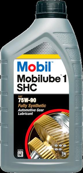 Масло трансмиссионное синтетическое MOBILUBE 1 SHC 75W-90, 1л Mobil 142123
