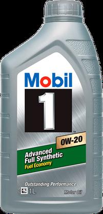 Масло моторное синтетическое Advanced Fuel Economy 0W-20, 1л Mobil 152042