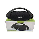 Портативная влагозащищенная колонка HOPESTAR Оригинал H37 Bluetooth USB, FM ave, фото 5