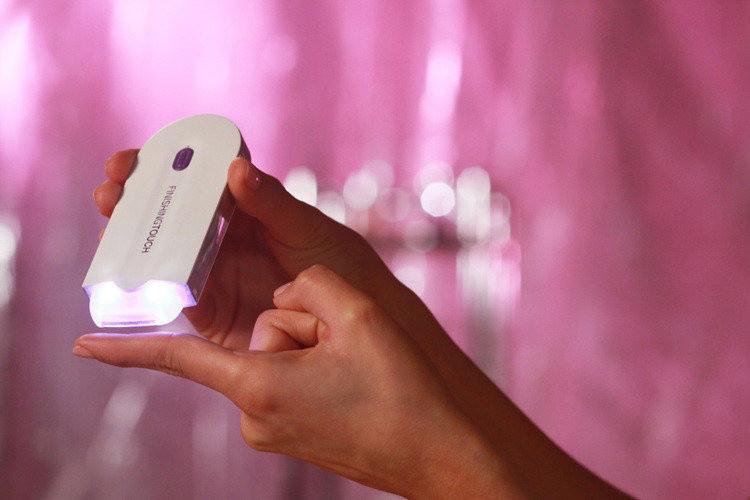 Finishing Touch бритва для лица и тела с датчиком прикосновения | Эпилятор / триммер / женский триммер ave