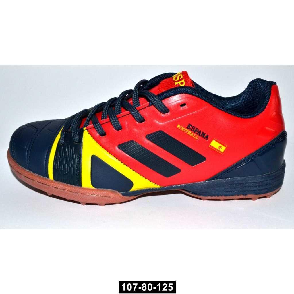 Футбольные кроссовки, бутсы для мальчика, 31 размер / 19.4 см, детские сороконожки, 107-80-125