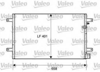 Радиатор кондиционера Valeo 814004