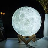 Популярный, дизайнерский Ночник MOON LAMP 13 см на Аккумуляторе. Лучшая Цена! ave, фото 5