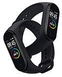 Фитнес-часы М4, смарт браслет smart watch, аналог mi band 4, треккер, сенсорные фитнес часы ave, фото 4
