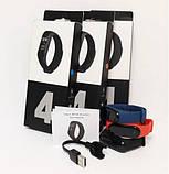 Фитнес-часы М4, смарт браслет smart watch, аналог mi band 4, треккер, сенсорные фитнес часы ave, фото 8