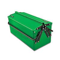 Ящик для инструмента металлический 3 секции TOPTUL TBAC345A
