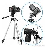 Штатив WT 330 A для телефона, камеры, трипод, тренога подставка Лучшая цена! ave, фото 4