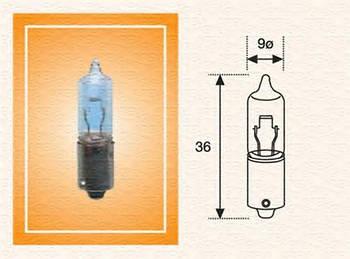 Лампа накаливания 24V H21W Magneti Marelli 002051200000