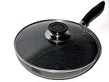 Алюминиевая сковорода с антипригарным покрытием Frying Pan Wimpex WX2405 (Teflon) 24 см Лучшая цена! ave, фото 2