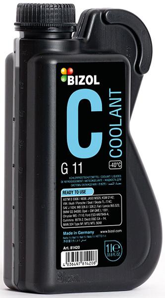 Антифриз синий готовый G11 -40°С 1л Bizol B81420