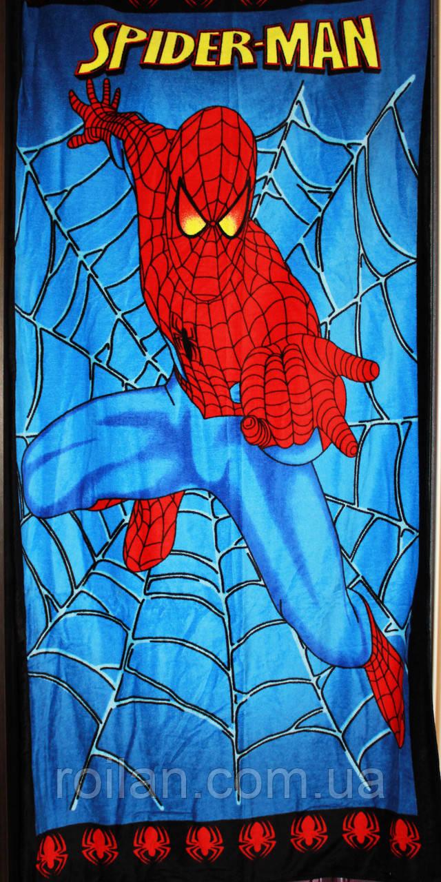 Пляжное полотенце Spider man