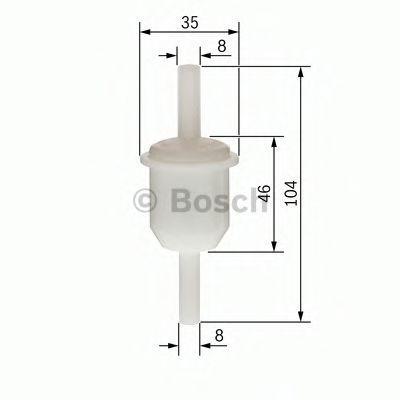 Фильтр топливный Bosch 0450904060