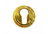 Накладка под цилиндр/ключ Linea Cali (на 011 розетке) латунь