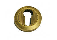 Накладка под цилиндр/ключ Linea Cali (на 102 розетке) патина
