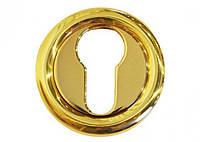 Накладка под цилиндр/ключ Linea Cali (на 103 розетке) латунь