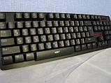 Русская беспроводная клавиатура + мышка HK6500 с адаптером ave, фото 5