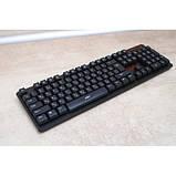 Русская беспроводная клавиатура + мышка HK6500 с адаптером ave, фото 9