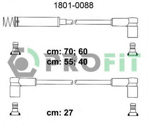 Провода высоковольтные комплект PROFIT 18010088