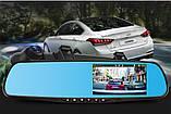 Видеорегистратор-зеркало DVR 138E с одной камерой и экраном ave, фото 3