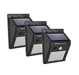 Светодиодный Навесной фонарь с датчиком движения 609 + solar 20 диодов ave, фото 4