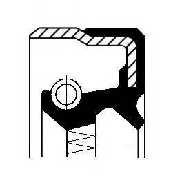 Сальник привода правого Corteco 01031878B