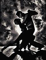 """Картина по номерам """"Страстный танец"""" 50*65см в коробке"""